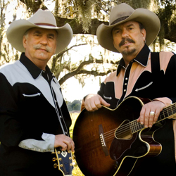 Photo of Bellamy Brothers for the Blue Gate Theatre Event in Shipshewana, Indiana