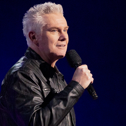 Photo of Brian Regan  for the Blue Gate Theatre Event in Shipshewana, Indiana