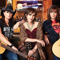 Photo of Chicks with Hits: Terri Clark, Pam Tillis & Suzy Bogguss for the Blue Gate Theatre Event in Shipshewana, Indiana