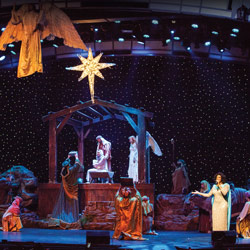 Photo of Christmas Winter Wonderland Extravaganza Show for the Blue Gate Theatre Event in Shipshewana, Indiana
