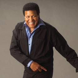 Photo of Chubby Checker for the Blue Gate Theatre Event in Shipshewana, Indiana