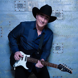Photo of Clint Black for the Blue Gate Theatre Event in Shipshewana, Indiana