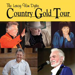 Photo of Country Gold with Leroy Van Dyke, Dallas Wayne, Leona Williams, Darrell McCall & Narvel Felts for the Blue Gate Theatre Event in Shipshewana, Indiana