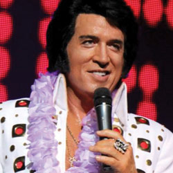Photo of Doug Church: The True Voice of Elvis for the Blue Gate Theatre Event in Shipshewana, Indiana