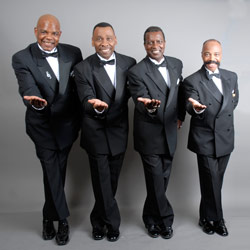 Photo of The Drifters, The Platters & Cornell Gunter's Coasters for the Blue Gate Theatre Event in Shipshewana, Indiana