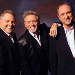 Photo of Larry Gatlin & The Gatlin Brothers with The Booth Brothers for the Blue Gate Theatre Event in Shipshewana, Indiana