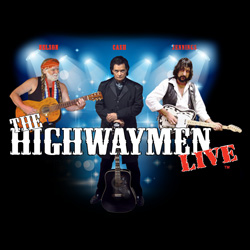 Photo of Willie, Waylon and Johnny Cash as...The Highwaymen