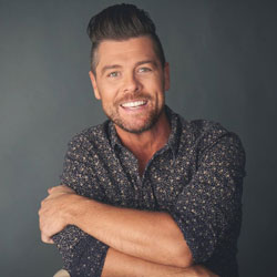Photo of Jason Crabb for the Blue Gate Theatre Event in Shipshewana, Indiana
