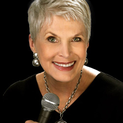 Photo of Jeanne Robertson for the Blue Gate Theatre Event in Shipshewana, Indiana