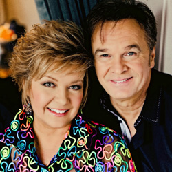 Photo of Jeff & Sheri Easter for the Blue Gate Theatre Event in Shipshewana, Indiana