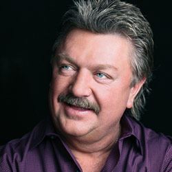 Photo of Joe Diffie with The Hubie Ashcraft Band for the Blue Gate Theatre Event in Shipshewana, Indiana