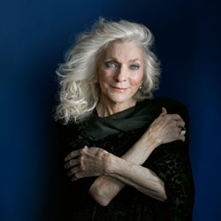Photo of Judy Collins  for the Blue Gate Theatre Event in Shipshewana, Indiana