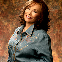 Photo of Loretta Lynn for the Blue Gate Theatre Event in Shipshewana, Indiana