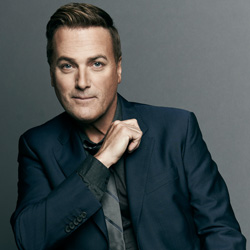 Photo of Michael W. Smith for the Blue Gate Theatre Event in Shipshewana, Indiana