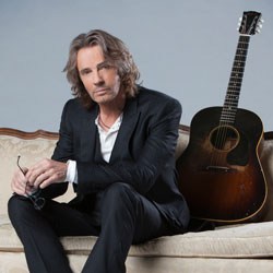 Photo of Rick Springfield for the Blue Gate Theatre Event in Shipshewana, Indiana