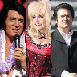 Salute to the Stars: Presley, Parton & Cash (distanced) | Blue Gate Theatre | Shipshewana, Indiana