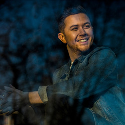 Photo of Scotty McCreery for the Blue Gate Theatre Event in Shipshewana, Indiana