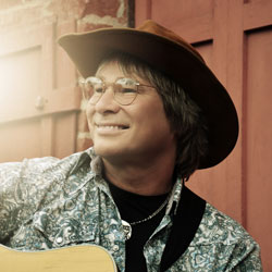 Photo of Ted Vigil John Denver Tribute for the Blue Gate Theatre Event in Shipshewana, Indiana