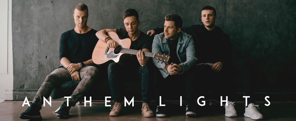 Photo of Anthem Lights for the Shipshewana Event