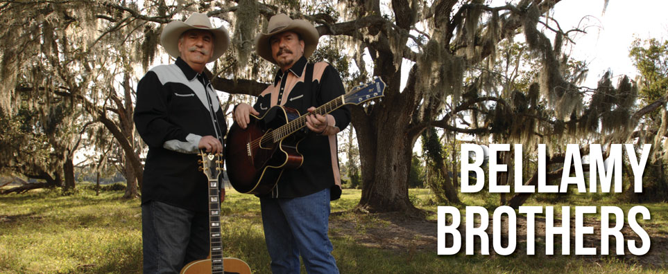 Photo of Bellamy Brothers for the Shipshewana Event