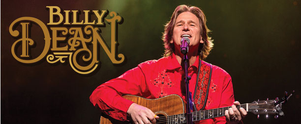 Photo of Billy Dean for the Shipshewana Event