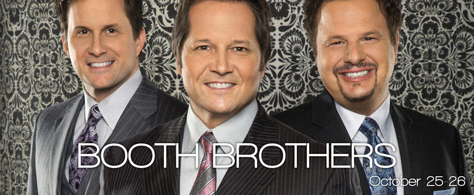 Photo of Booth Brothers for the Shipshewana Event