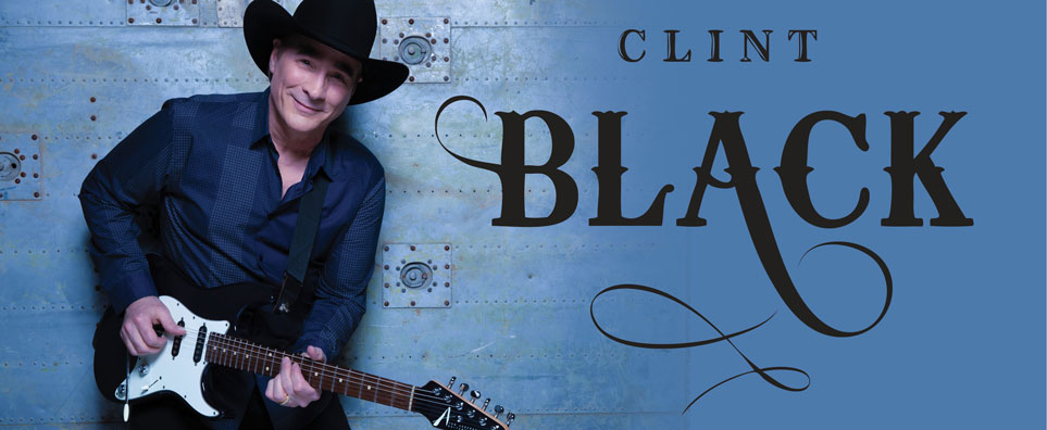 Photo of Clint Black for the Shipshewana Event