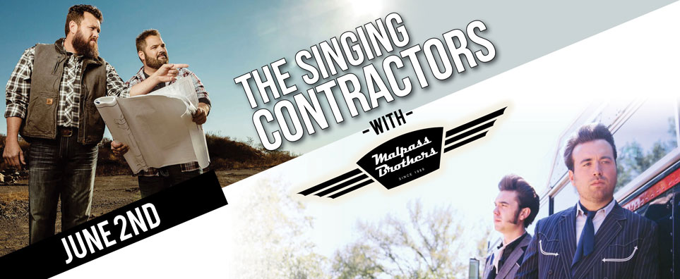 Photo of Singing Contractors w-Malpass Brothers for the Shipshewana Event