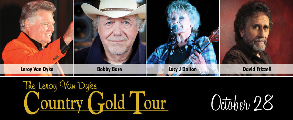 Photo of Country Gold w/Leroy Van Dyke, David Frizzell, Lacy J. Dalton and Bobby Bare for the Shipshewana Event