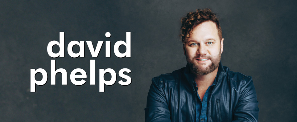 Photo of David Phelps for the Shipshewana Event