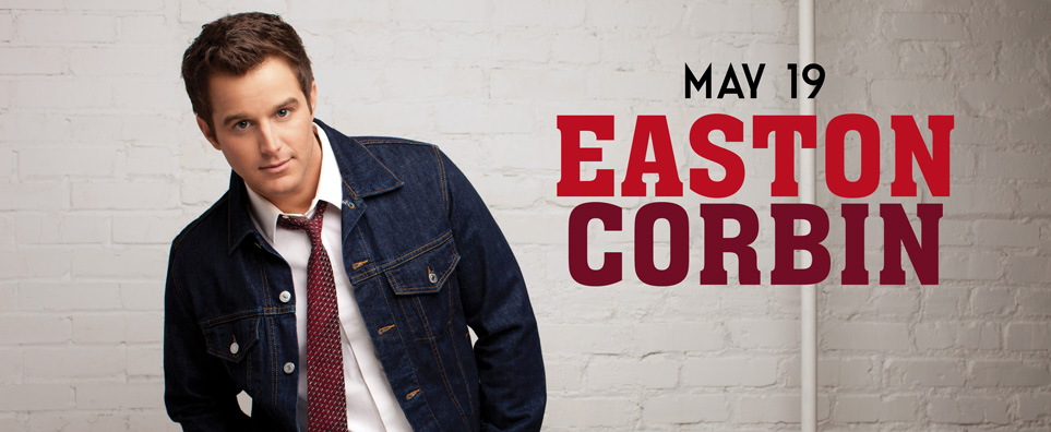 Photo of Easton Corbin for the Shipshewana Event