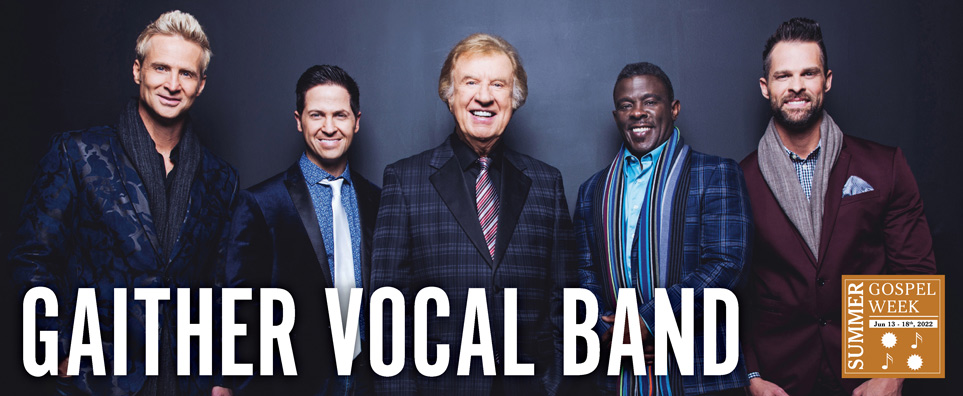 Photo of Gaither Vocal Band for the Shipshewana Event