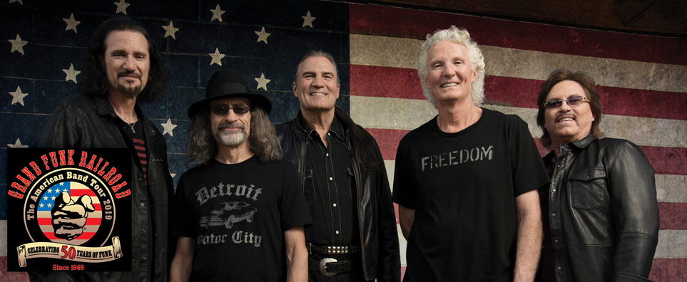 Photo of Grand Funk Railroad for the Shipshewana Event