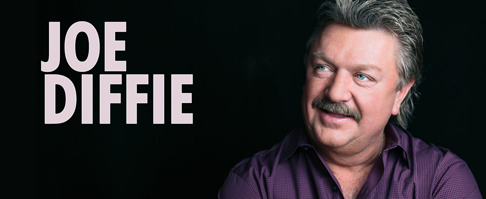 Photo of Joe Diffie with The Hubie Ashcraft Band for the Shipshewana Event