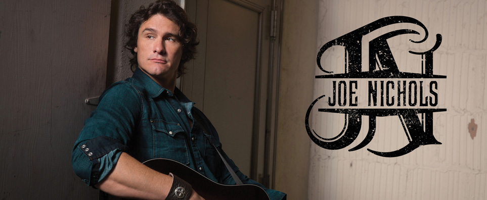 Photo of Joe Nichols for the Shipshewana Event