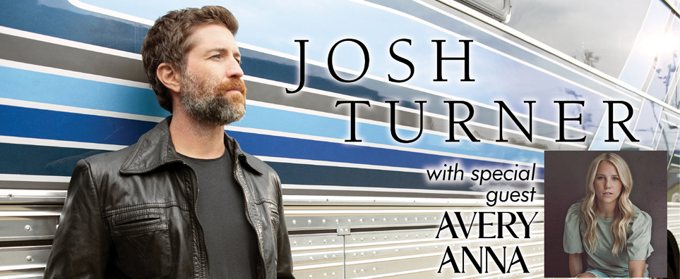 Photo of Josh Turner for the Shipshewana Event