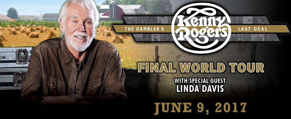 Kenny Rogers Tickets June 09 2017 Blue Gate Theatre