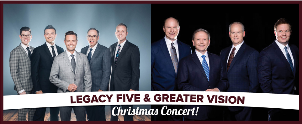 Photo of Legacy Five & Greater Vision Holiday for the Shipshewana Event