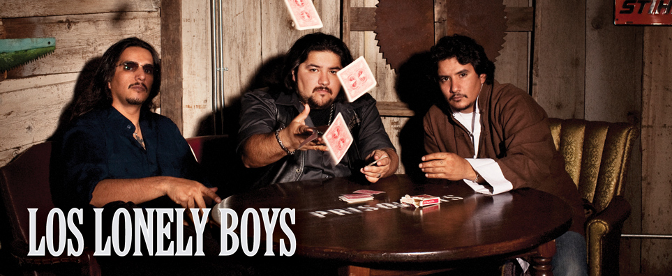 Photo of Los Lonely Boys for the Shipshewana Event
