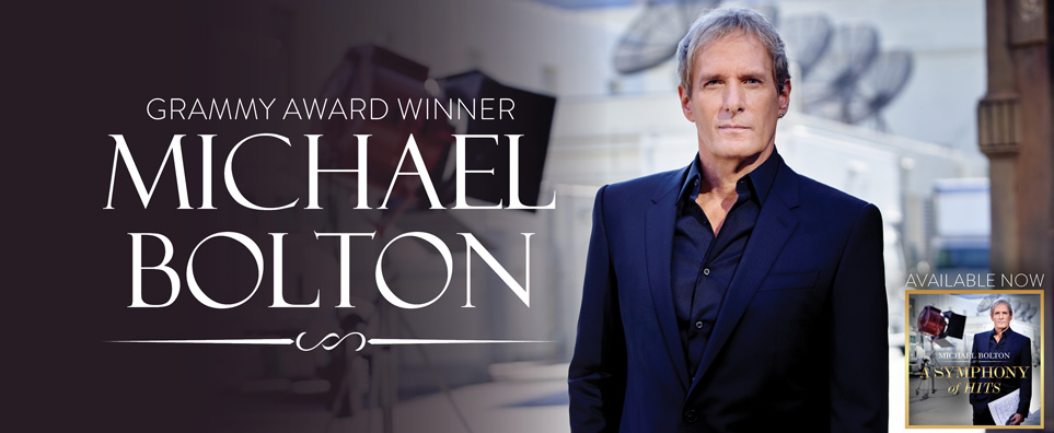 Photo of Michael Bolton for the Shipshewana Event