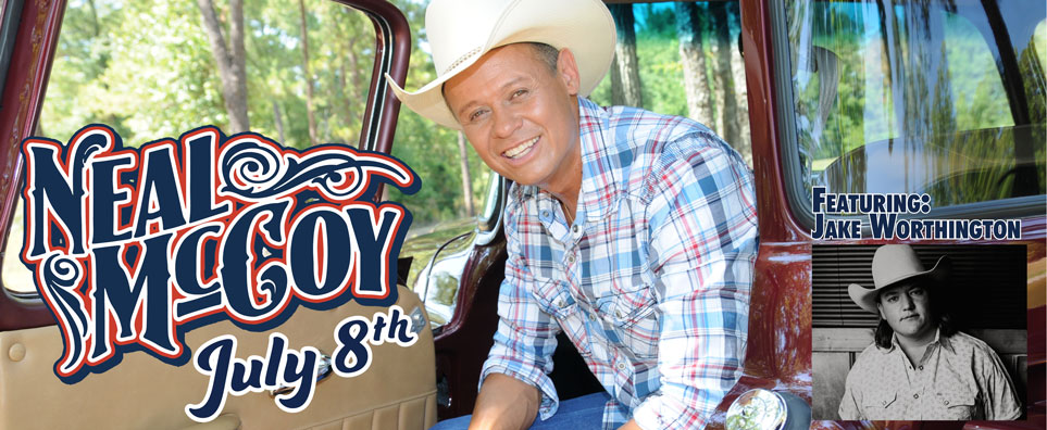Photo of Neal McCoy for the Shipshewana Event