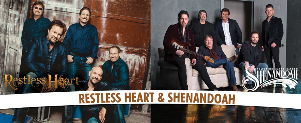 Photo of Restless Heart and Shenandoah for the Shipshewana Event