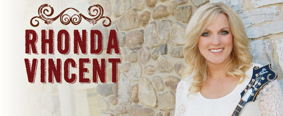 Photo of Rhonda Vincent for the Shipshewana Event