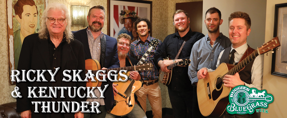 Photo of Ricky Skaggs for the Shipshewana Event