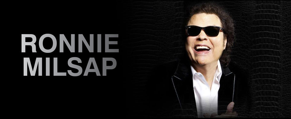 Photo of Ronnie Milsap for the Shipshewana Event