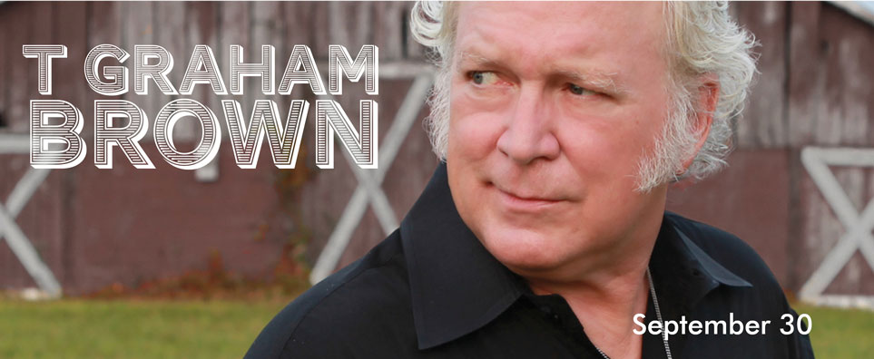 Photo of T Graham Brown for the Shipshewana Event
