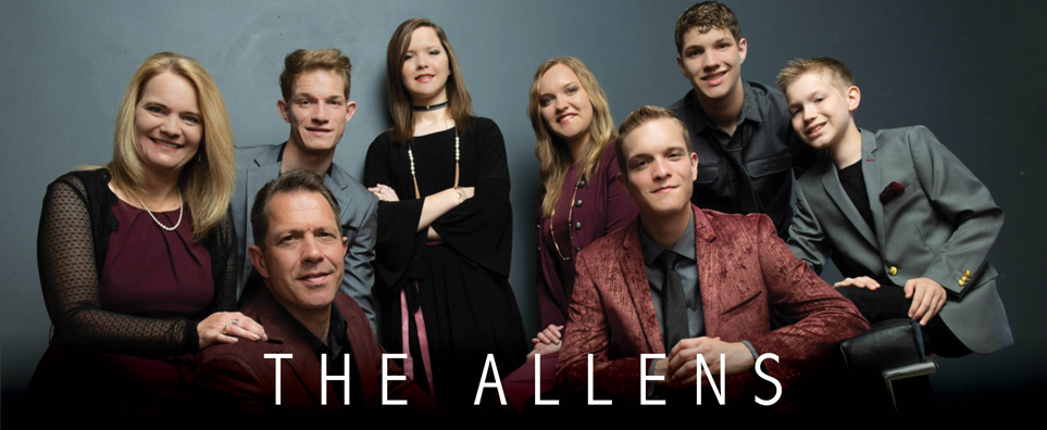 Photo of The Allens for the Shipshewana Event