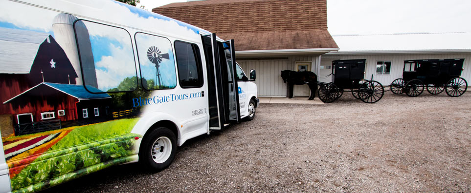 Photo of Blue Gate Amish Tours for the Shipshewana Event