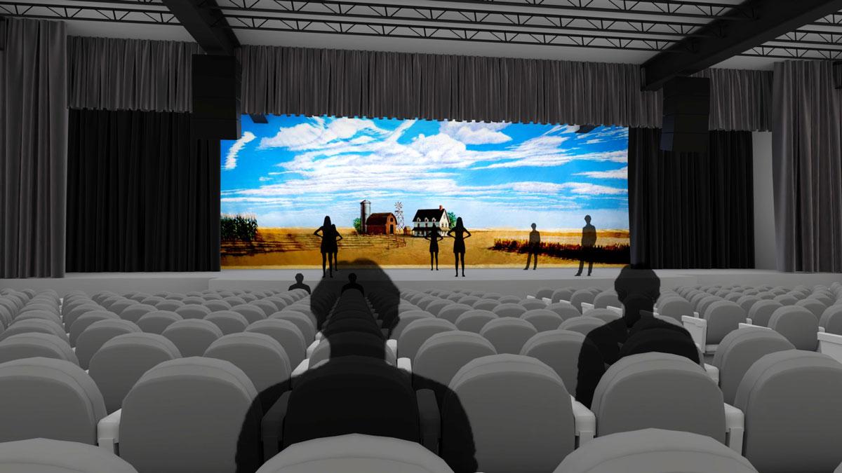 Blue Gate Performing Arts Center Information
